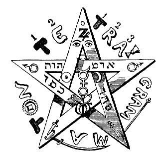 Eliphas Levi's Pentagram
